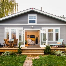 Back Yard Home Remodel