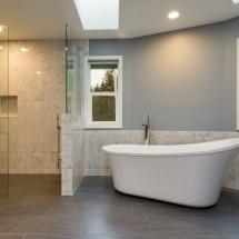 Bathroom Remodel Bath and Shower