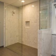 Bathroom Remodel Glass Shower